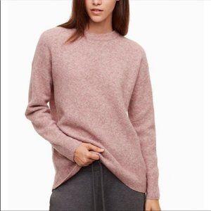 Aritzia Thurlow Sweater Blush Pink